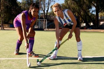 Maria José Ochoa y Mia Gamietea, de San Luis.