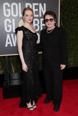 Emma Stone y Billie Jean King