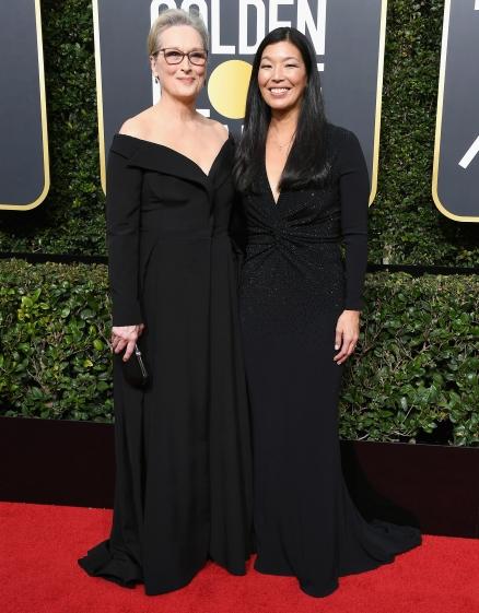 Meryl Streep y Ai-jen Poo