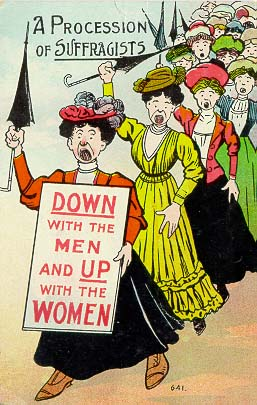 A_procession_of_suffragists
