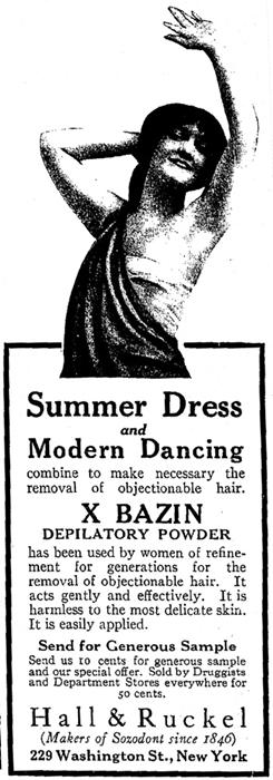 depilación haarpers bazar 1915