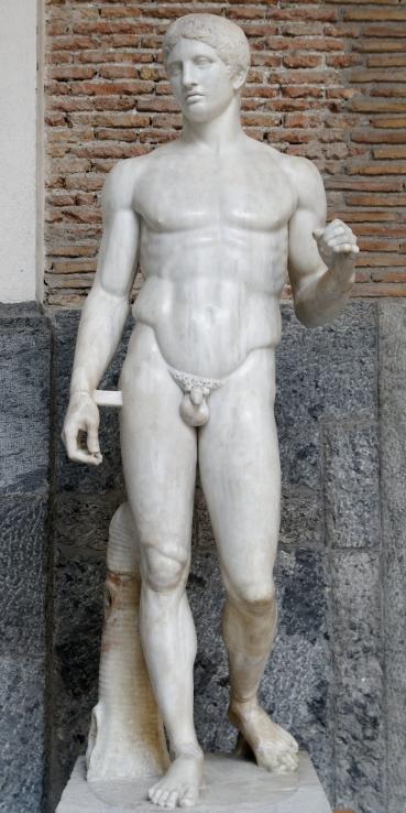El Doríforo de Policleto (siglo V a.C)