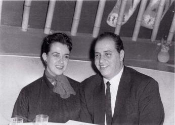 Tony Lip y su esposa en la vida real